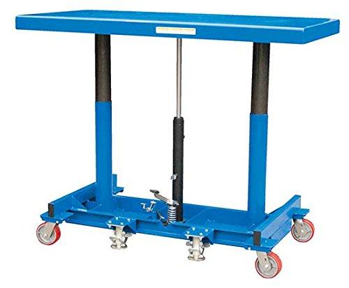 Portable Workbench - BLDLT Series; Platform Size (W x L): 30'' x 120''; Capacity (LBS): 2,000; Raised Height: 48''; Lowered Height: 31''; Operation: Foot Pump