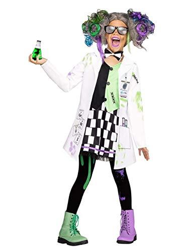 Fun World Mad Scientist Girl Costume, X-Large 14-16, White