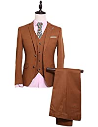 Brown Men's Formal Occasion Suits Wedding Party Suits