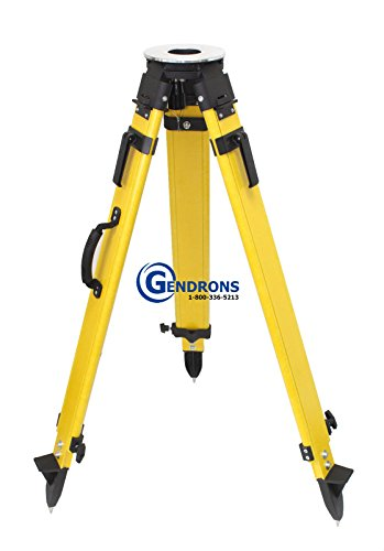 Tri-Pro Heavy Duty Fiberglass Tripod for Total Staion,GPS,Laser Level,Surveying