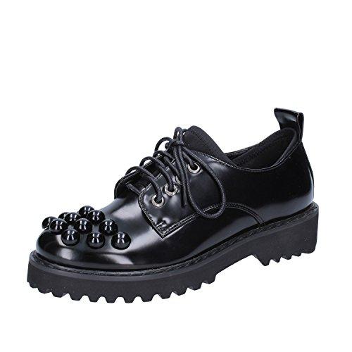 SARA Donna Pelle EU Nero Shoe Oxford Classiche Sintetica 35 LOPEZ rqI6Pr