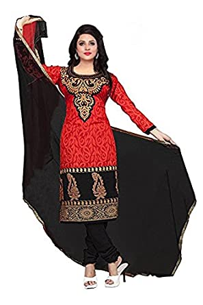 ae7b5a24e4 Lady Loop Women's Cotton Printed Unstitched Regular Wear Salwar Suit Dress  Material(SB_Dress_210): Amazon.in: Clothing & Accessories