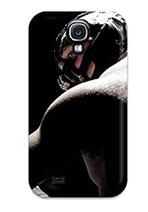 1066287K64856085 First-class Case Cover For Galaxy S4 Dual Protection Cover Tom Hardy As Bane In Dark Knight Rises