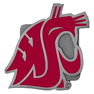 NCAA Washington State Cougars Logo Hitch Cover, Class II & III