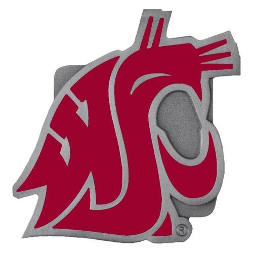 - Siskiyou NCAA Washington State Cougars Logo Hitch Cover, Class II & III