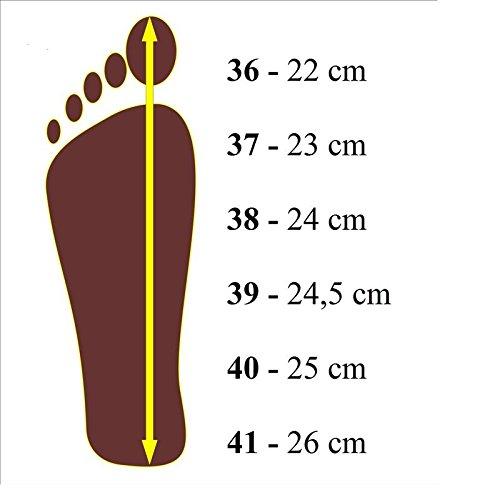 Produit Naturel Doux En À Main Confortable Apreggio Fait Semelle Pantoufles Caoutchouc Rouge La 100 Femmes Cuir qz4fwg1