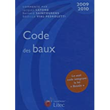 CODE DES BAUX 2009-2010