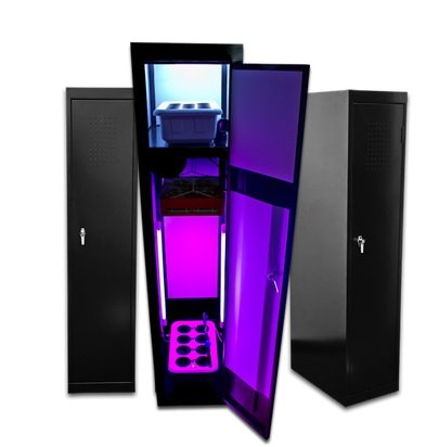41b5U5ID3aL Grow Box LED SuperLocker 3.0 LED Grow Cabinet Hydroponics System Hydrponic Grow Box Cabinet Closet System