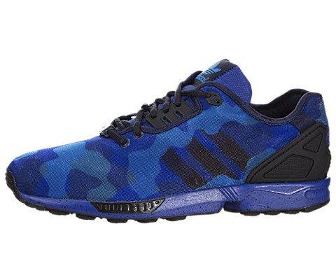 Adidas ZX Flux Women US 11 Blue Sneakers UK 10.5 EU 45.5
