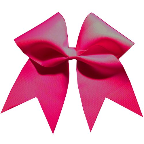 Chosen Bows Big Classic Cheer Bow, Hot Pink