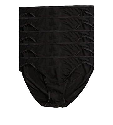Felina | So Smooth Low Rise Bikini Panties | Seamless Underwear | 5 Pack