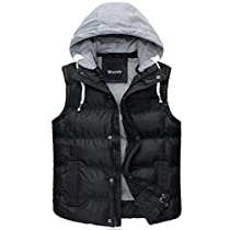 Wantdo Womens Quilted Hooded Puffer Vest