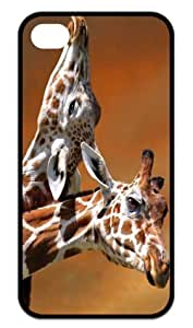 THYde Great iPhone 5/5s Cases Cute Giraffe Back Covers Durable Case ending