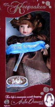 Marie Osmond Collectible Doll (Hershey's Kisses 100 Anniversary Marie Osmond Keepsake Doll)