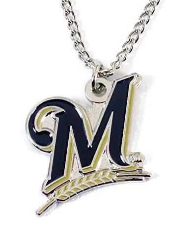- Milwaukee Brewers Logo Pendant