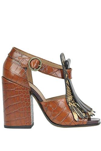 DRIES VAN NOTEN Women's Mcglcat02059i Brown Leather - Dries Noten Van Shop
