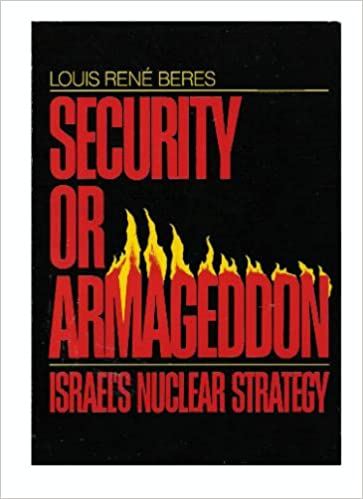 Book Security or Armageddon: Israel's Nuclear Strategy