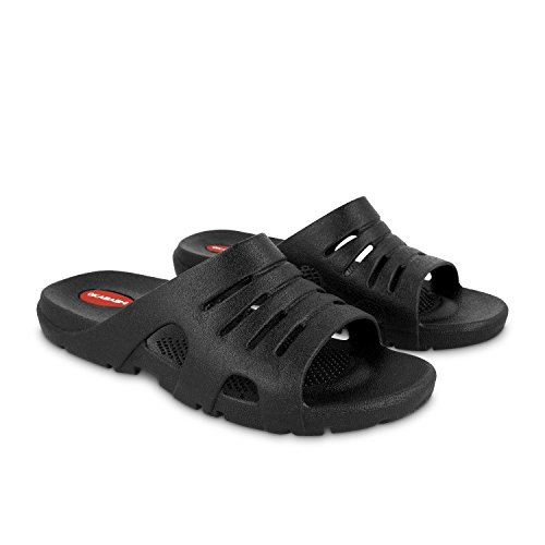 Reptile Sandal 4 - Okabashi Men's Eurosport Flip Flops - Sandals Black