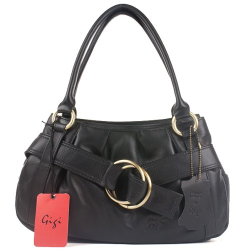 Black Handbag Fashion Othello 4466 4466 Gigi Handbag Leather Gigi Othello Black Fashion Leather Gigi UqAx1Ozw8