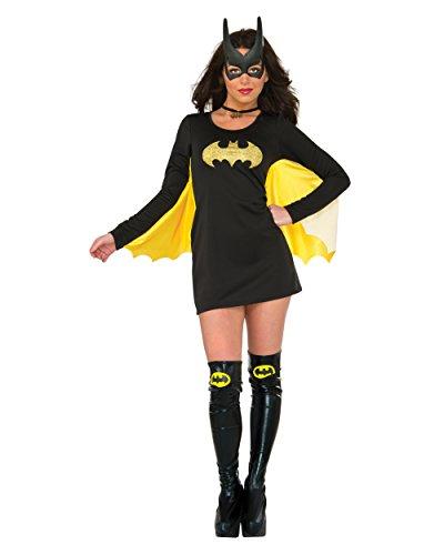 Rubie's Women's Dress, Batgirl, Medium-Large (Batman Halloween Costume For Women)