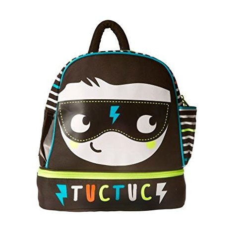 TUC TUC Boys Nursery School Backpack and Food Container, People Tuc Tuc Store UK 7545