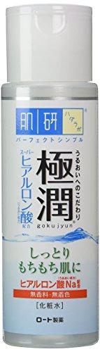 Hada Labo Rohto Gokujyn Hyaluronic Acid Lotion, 170ml (Hada Labo Super Hyaluronic Acid Moisturizing Lotion)