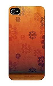 New Cute Funny Floorview Orange Room Paerns Wood Floor Case Cover/ Iphone 5/5s Case Cover For Lovers