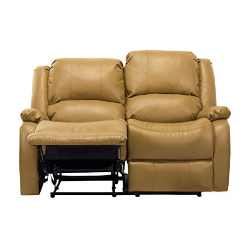 Recpro Charles 58 Double Rv Zero Wall Hugger Recliner Sofa Loveseat Toffee Best Sofas Online Usa