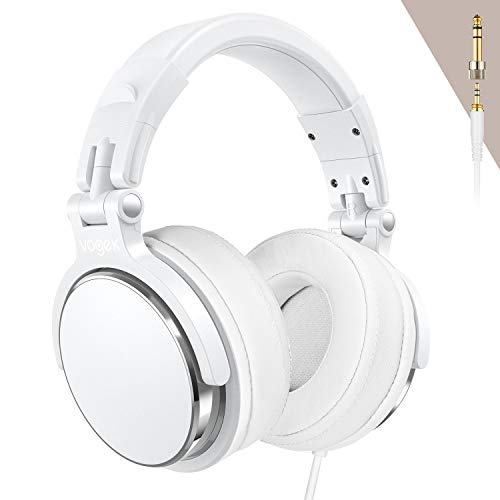 Lowest Prices! Over-Ear DJ Headphones, Prefessional Studio Monitor Mixing DJ Headset with Stereo Sou...
