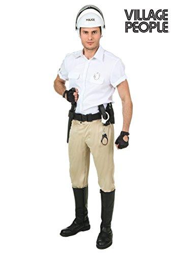 Plus Size Village People Police Costume 2X - Village People Fancy Dress Costumes