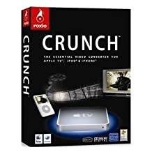 Compusa Only Roxio Crunch Video Converter for Apple TV