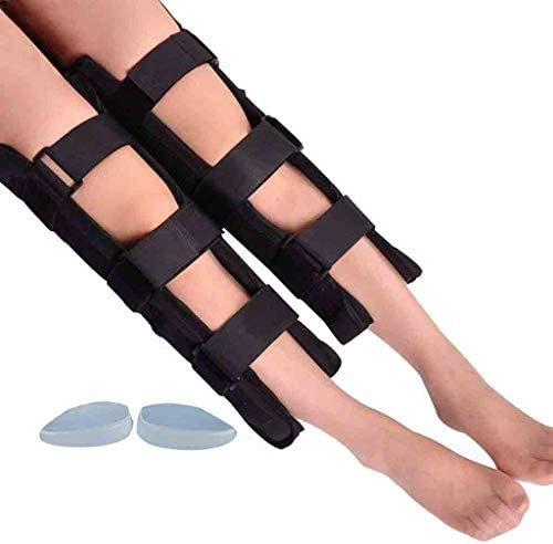 脚補正包帯ユニセックスO/X脚姿勢 ースキットを矯正X型の脚のための調節可能な脚補正ブレースバンド