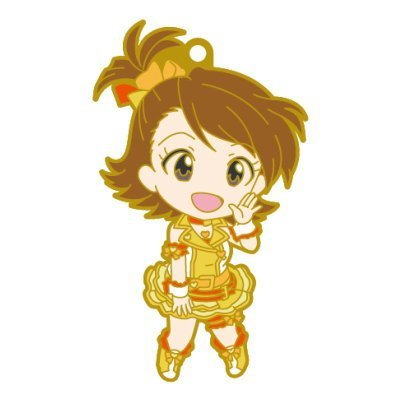 Nendoroid Plus rubber strap The Idolmaster One For All 765PRO ALLSTARS stage B [5. Ami Futami] (single)