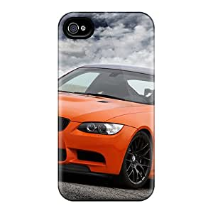Flexible Tpu Back Case Cover For Iphone 4/4s - Bmw M3 Gts
