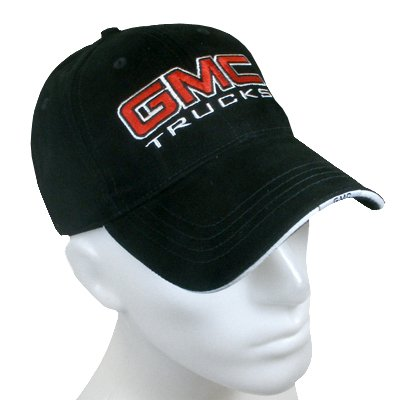 a556a121850 Amazon.com  GMC Trucks Black Baseball Cap  Automotive