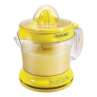 Proctor Silex Alex's Lemonade Stand Citrus Juicer Machine and Squeezer (66331), 34 oz, Yellow