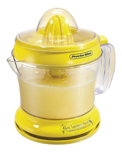 Proctor Silex Alex's Lemonade Stand Citrus Juicer Machine and Squeezer (66331)