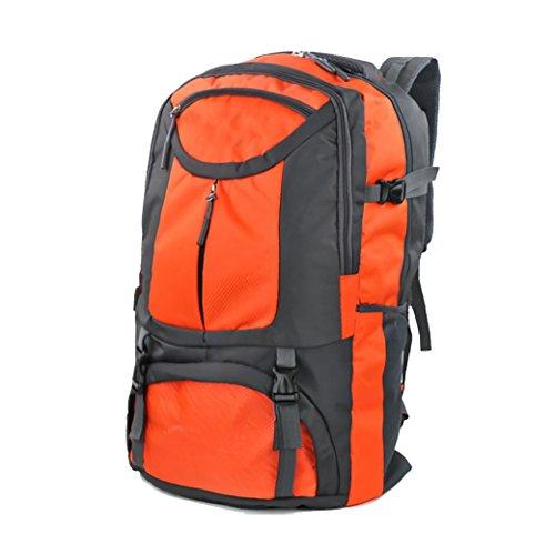 borsa da viaggio grande capacità sportive all'aperto sacchetto di alpinismo tracolla 75L
