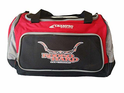 """Rodeo Hard Medium Gear Bag 24""""x14""""x12"""" Asst. Colors (Red)"""