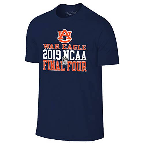 - Auburn Tigers 2019 Final Four Basketball March Madness T-Shirt - Large - Navy