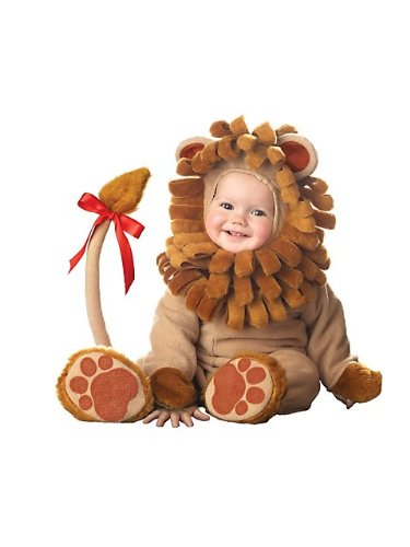 InCharacter Lil' Lion Infant Costume-Medium (12-18)