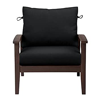 amazon com sunbrella deep seat cushion set comfort 17 x24 x5 1
