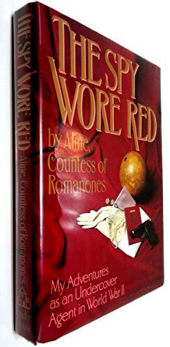 Book: Spy Wore Red by Aline Romanos