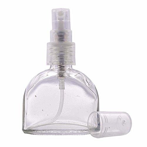 12 x Empty Perfume Glass Bottles Refillable Perfume Spray Atomizer Bottles  Wholesale Essential Oil Spray Perfume Atomizer Bottle 10 ml