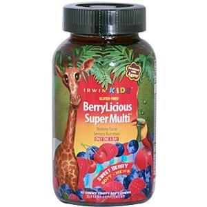 Enfants berrylicious Super Multi souple Chew 30 Gaufrettes