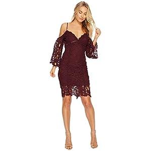 ASTR the label Women's Giselle Cold Shoulder Lace Dress