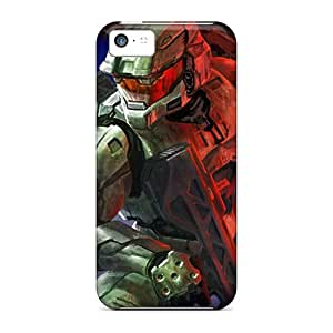 Oilpaintingcase88 Snap On Hard Cases Covers Halo3 Protector For Iphone 5c