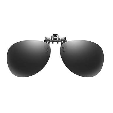 Embryform Gafas de sol con clip, Gafas de sol polarizadas UV ...