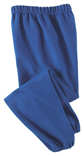 Jerzees Youth 8 oz., 50/50 NuBlend® Sweatpants L (Polyester 8 Ounce Sweatpants)