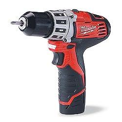 Milwaukee 2407-22 M12 38 Drill Driver Kit